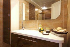 Custom bathroom mirror Gold Coast