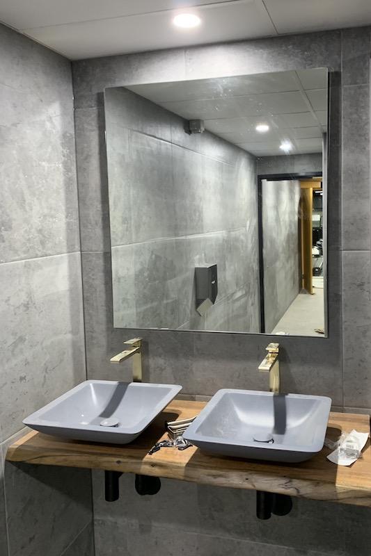 Restroom mirror Fortitude Valley