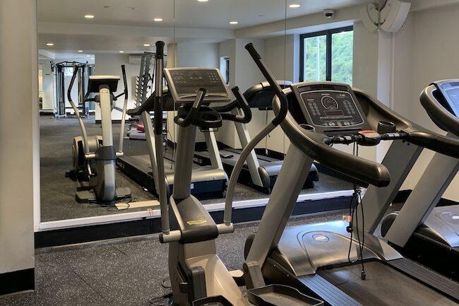 River Place apartment gym mirror Brisbane City E