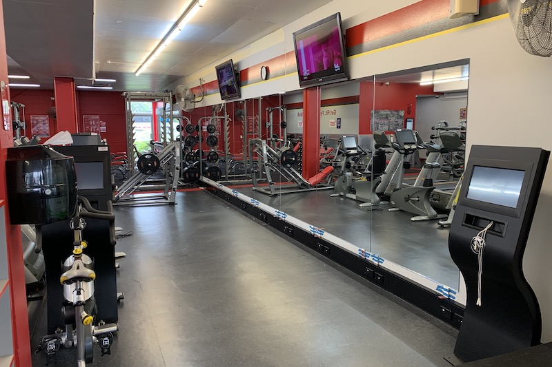 Snap Fitness Gym Mirror 2