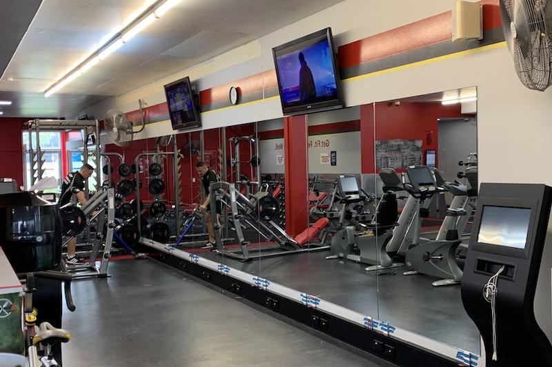 Snap Fitness Gym Mirror Jindalee