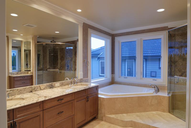 custom bathroom mirror Albion