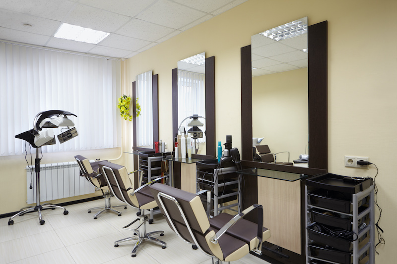 hairdressing salon mirrors